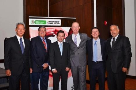 Bogotá delegation makes its mark