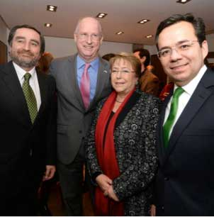 Chile opens first of 50 Small Business Development Centers with the guidance of UTSA