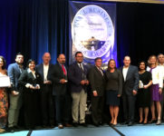 The 2017 SBA San Antonio District Small Business Week winners gathered at the close of an awards ceremony