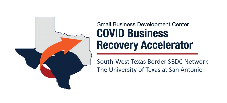 UTSA SBDC COVID Business Recovery Accelerator Rev Draft Logo 05112020